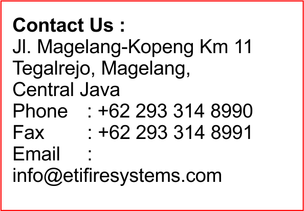 PT. ETI FIRE SYSTEMS